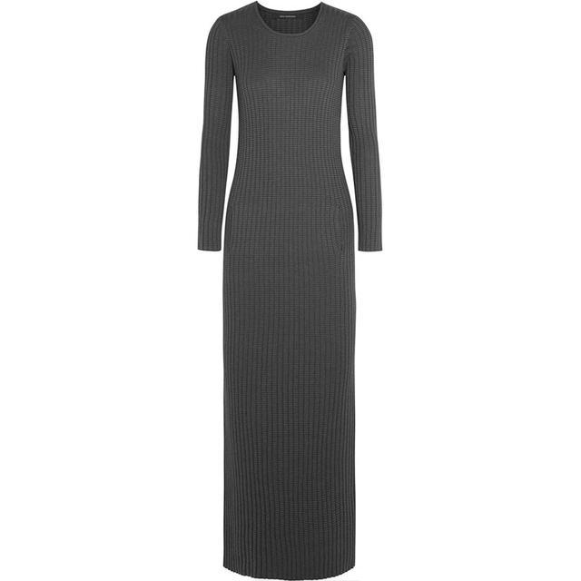 Wes Gordon Striped Knit Dress