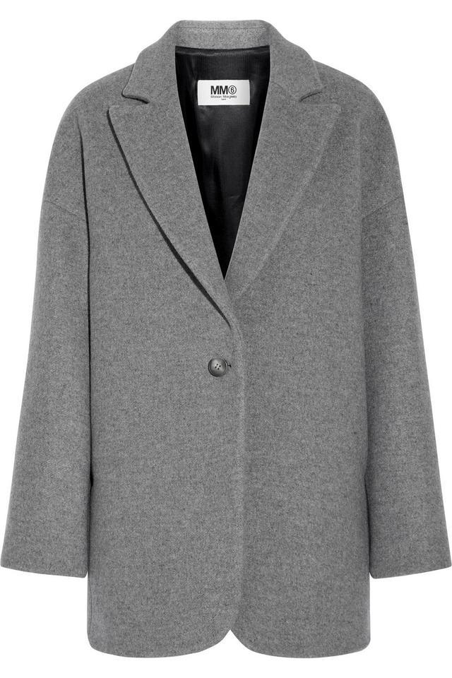 MM6 Maison Margiela Wool Felt Coat