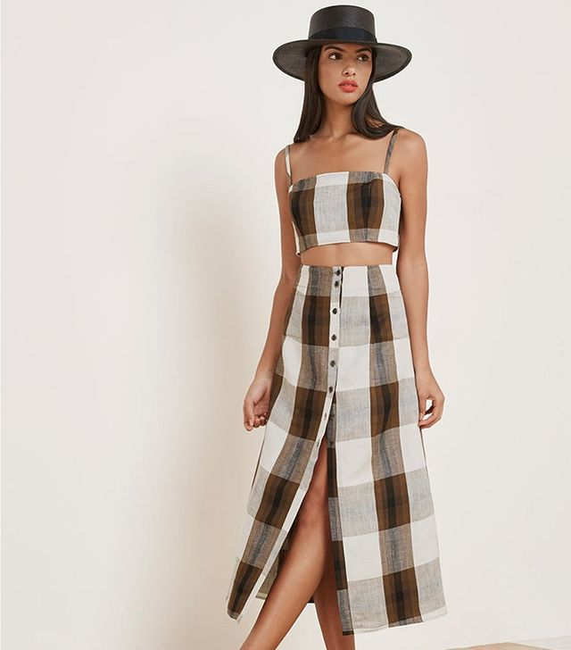 The Reformation Augie Two Piece