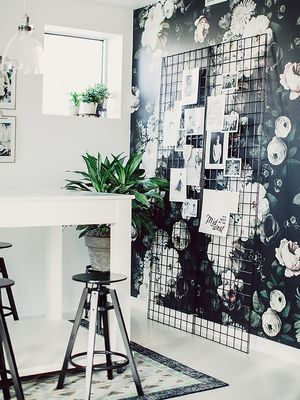 Got a Small Space? Here's How to Use Patterns the Right Way