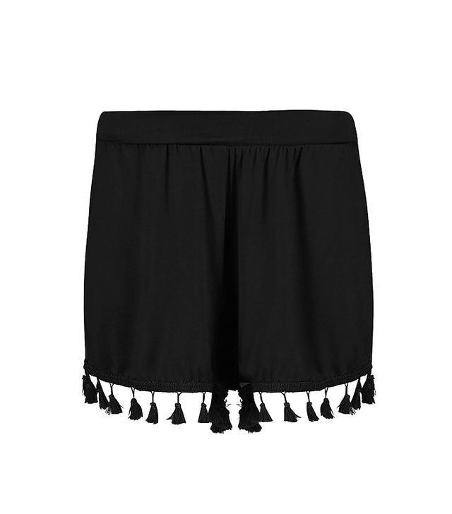 Lois Tassel Trim Flippy Shorts