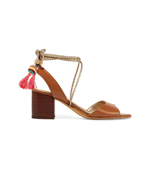 Sam Edelman Shani Tasseled Leather Sandals