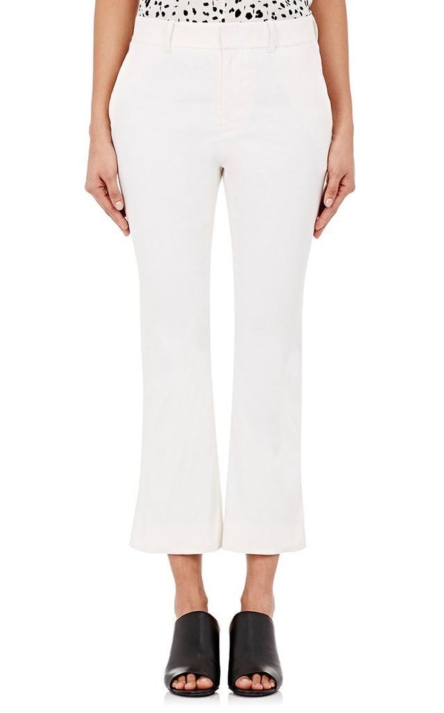 Derek Lam 10 Crosby Stretch Slim Crop Pants