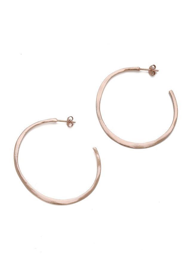 Gorjana Arc Hoop Earrings