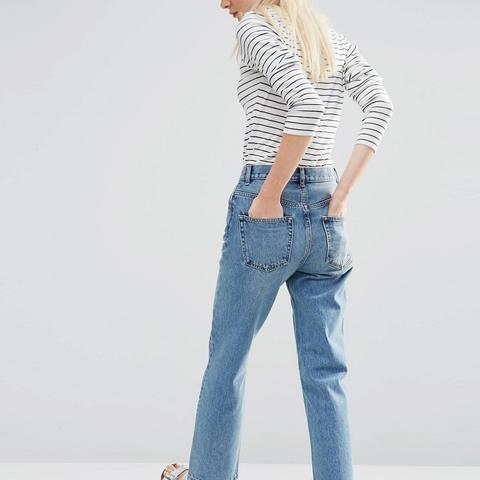 Authentic Straight Leg Jeans
