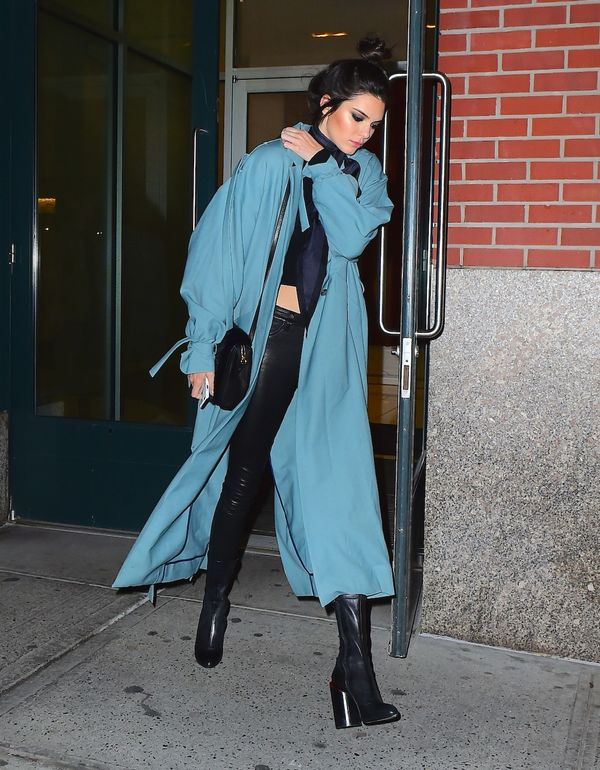 <p><strong>WHO:</strong> Kendall Jenner</p>