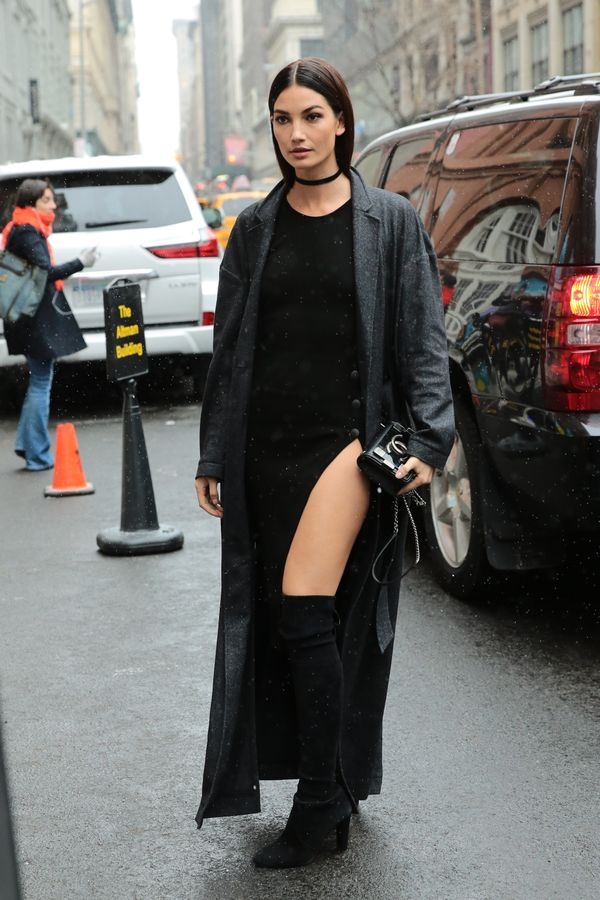 <p><strong>WHO:</strong> Lily Aldridge</p>