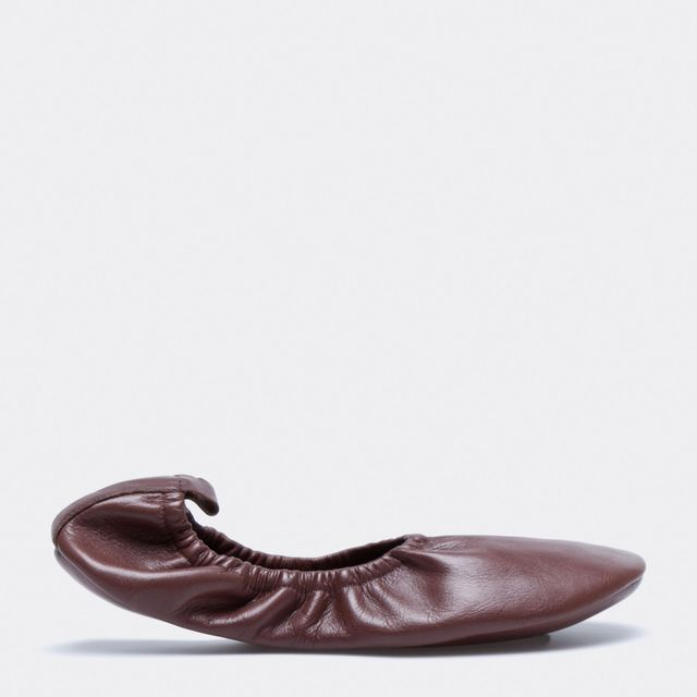 Zara Brown Ballerinas