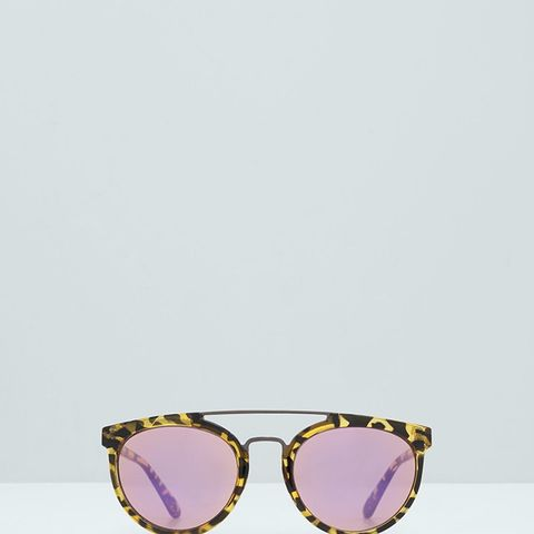 Tortoiseshell Retro Sunglasses
