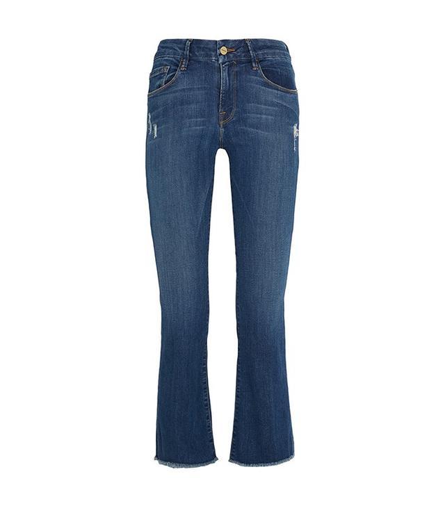 Frame Denim Le Crop Mini Jeans