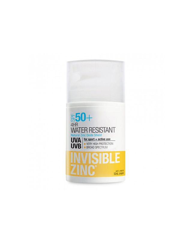 Invisible Zinc SPF 50+ 4HR Water Resistant Lotion