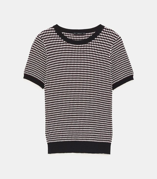 Zara Jacquard Sweater