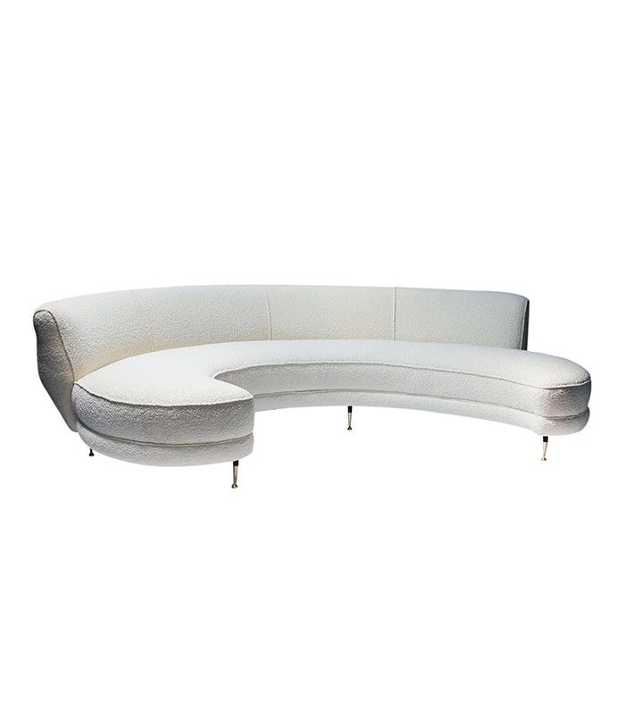 Pinterest Galerie Pierre Italian Curved Sofa