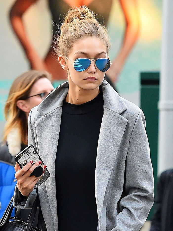 134bd3a1e51c Gigi Hadid Just Tried the Coolest Styling Trick   Who What Wear UK