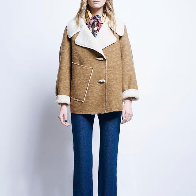 Karen Walker Ace Cropped Coat