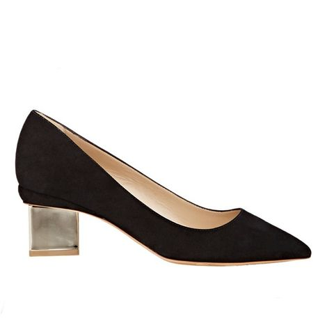 Suede Carnaby Pumps