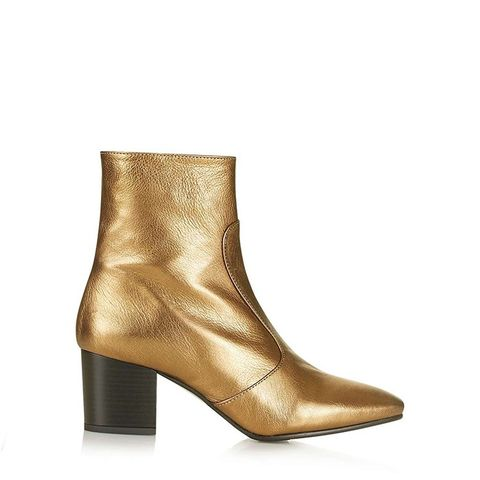 Mustard Western Boots