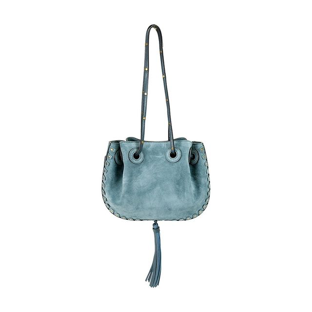 Chloé Inez Suede Shoulder Bag