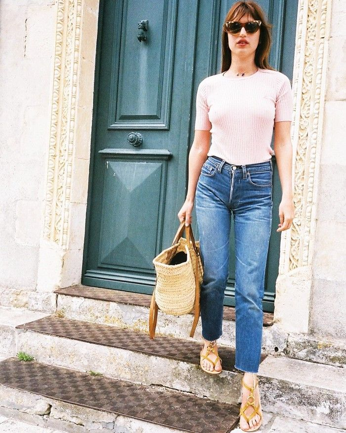 The French-Girl Way to Wear a Graphic Tee recommendations