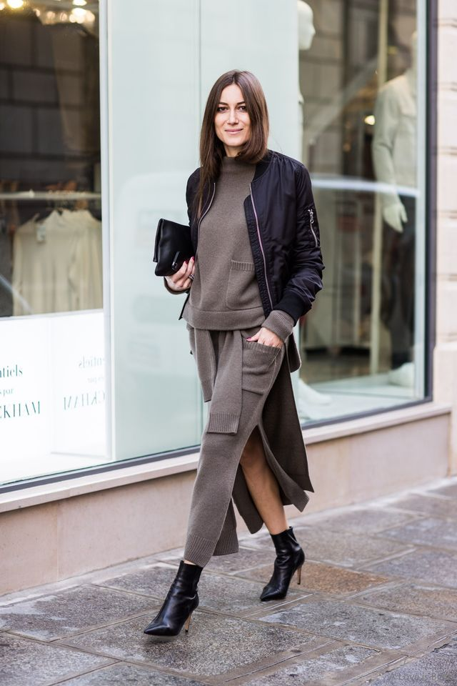 <p>A matching knitted skirt and top is the winter version of a co-ord set.</p>