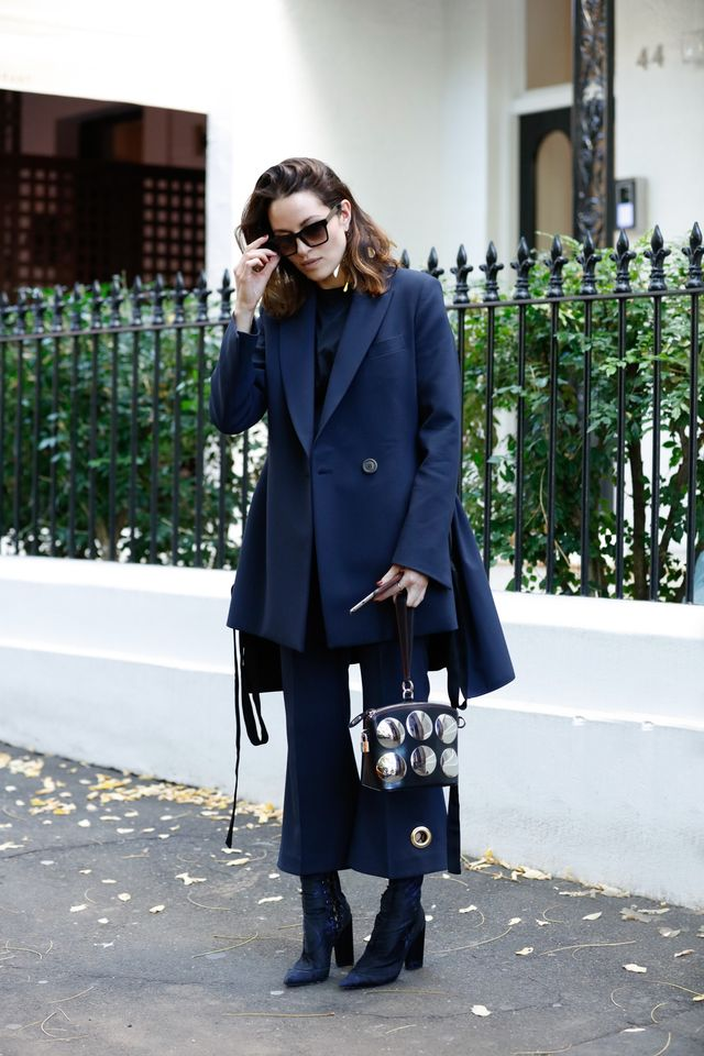 <p>Wear long boots under cropped flares so your legs stay warm.</p>