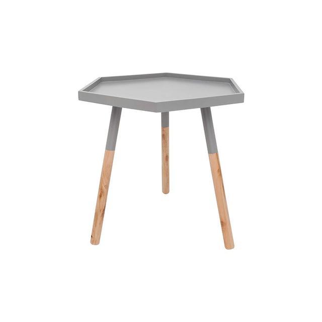 Design House Winter Luxe Hexagon Table