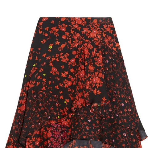 Ava Tiered Floral Skirt