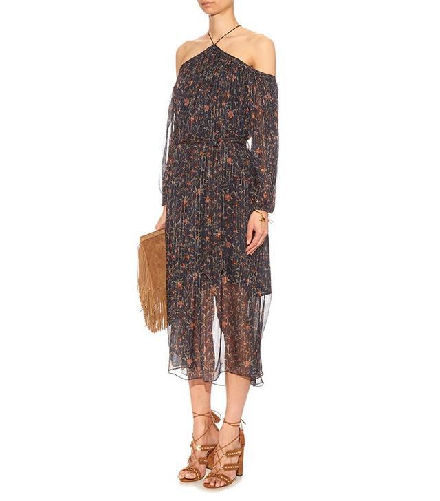 Zimmerman Havoc Floral-Printed Silk Dress