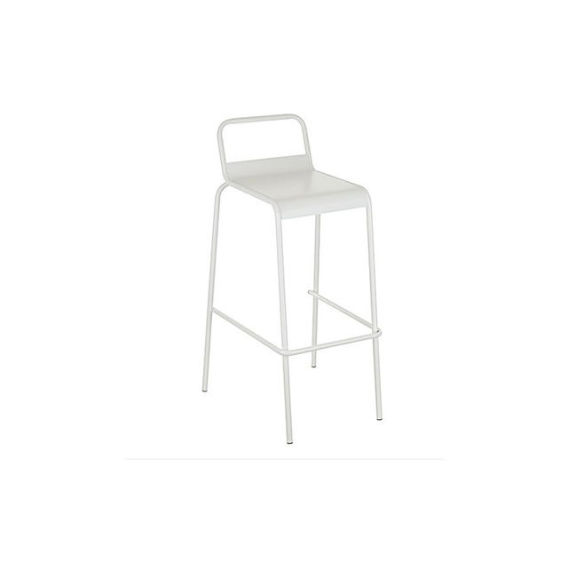 Zanui Sterling Bar Stool, White