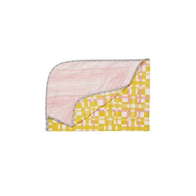Tinker Baby Blanket - Double Sided Tartan