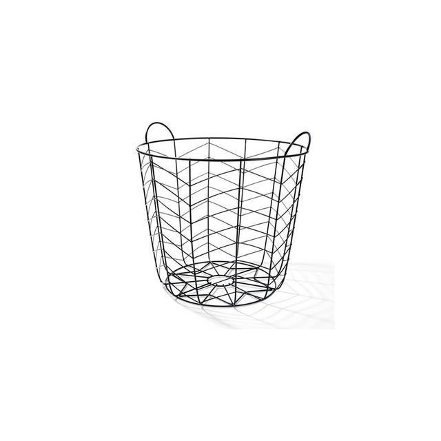 Kmart Black Coloured Basket