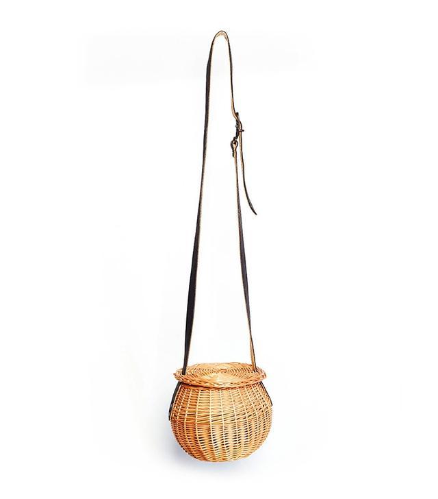 Rosa Mosa Wicker Ball Shoulder Bag