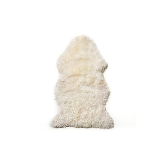 Home Republic Ivory Sheepskin Single