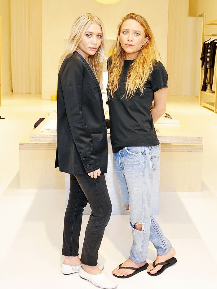 Mary Kate And Ashley Olsen On Their Elizabeth James Opening Who What Wear