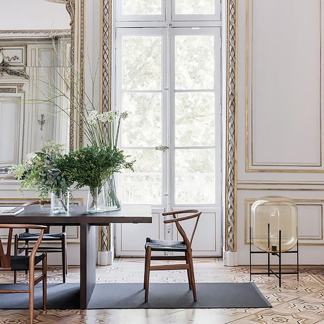 A Romantic French Home With All the Traditional Details We Love
