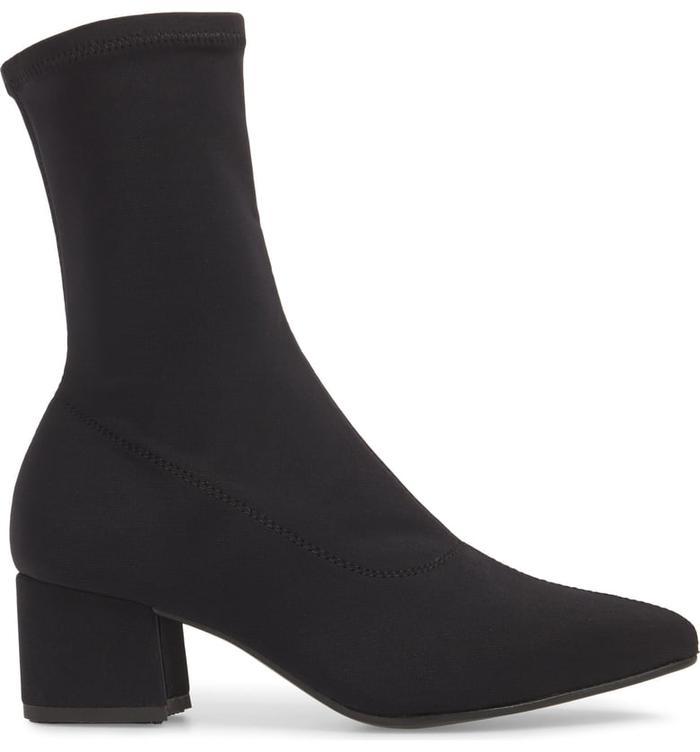 779a0a3c6 Alexander Wang Hailey Mid Sock Heel Boots ( 695) · Pinterest