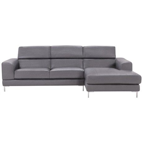 Freedom Empire Modular 2.5 Seat Left Hand & Chaise Right Hand in Avant Coal