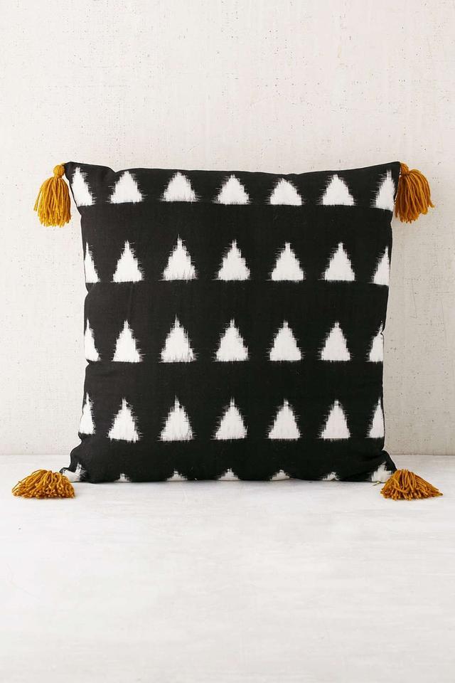 Madeline Weinrib Collins Ikat Pillow