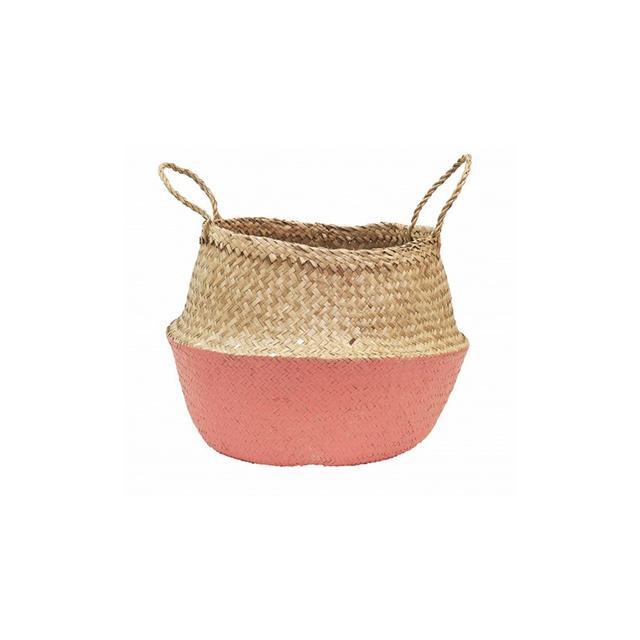 Olli Ella Coral Dipped Belly Basket
