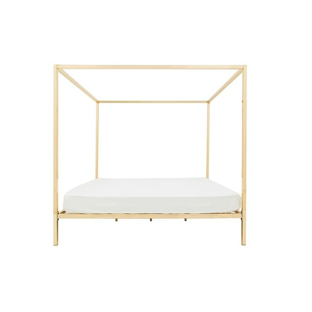 Incy Interiors Four-poster rose gold - queen