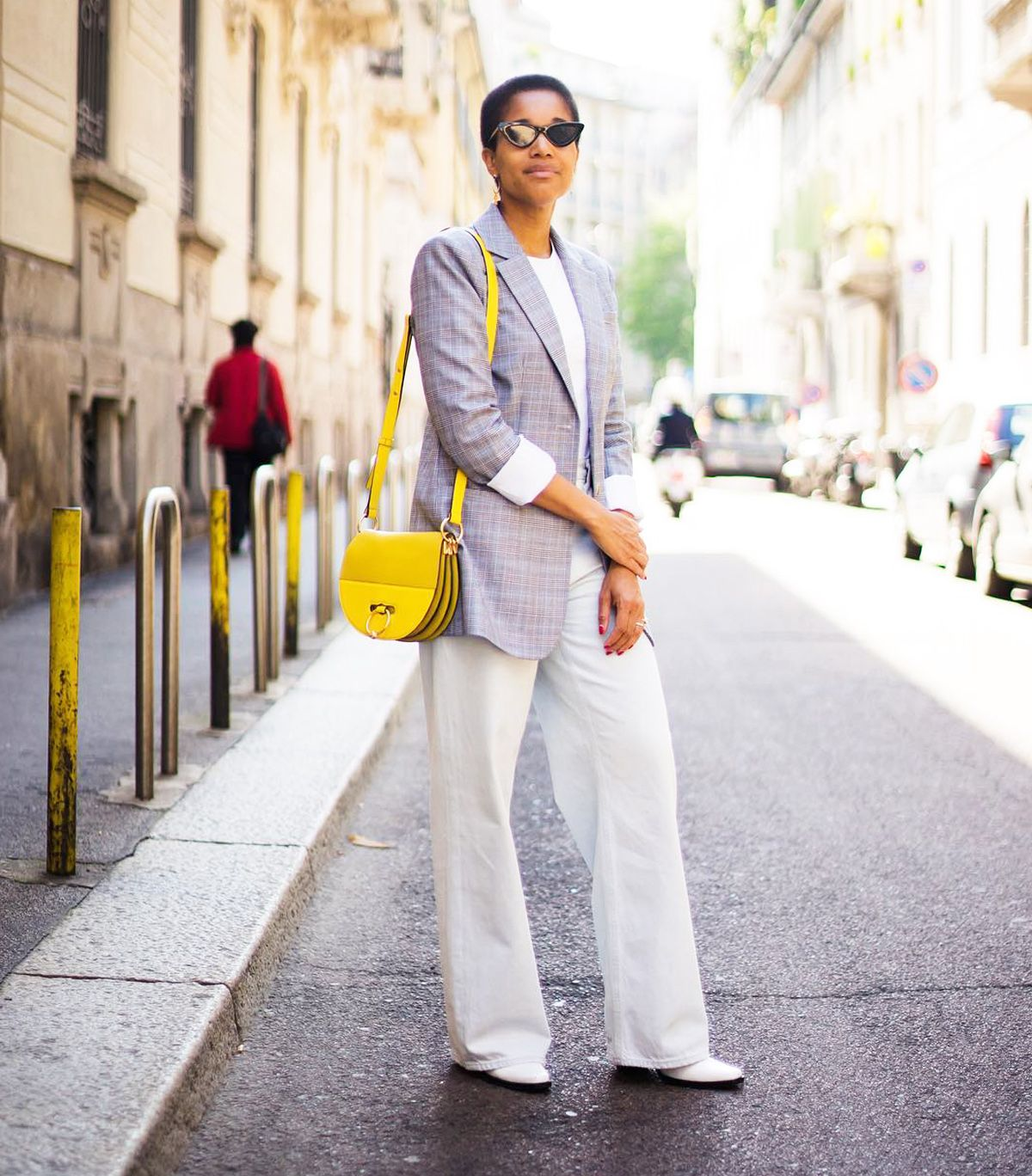 The Most Expensive-Looking Ways to Wear a Pair of White Jeans
