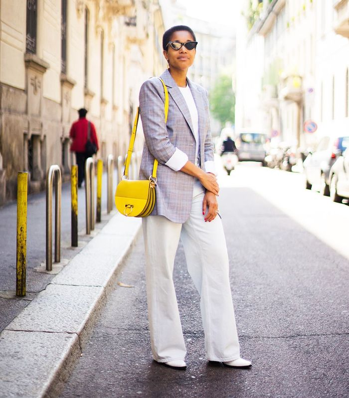 25c1d7e4d5175 What to Wear With White Jeans: 5 Combos You'll Love   Who What Wear UK