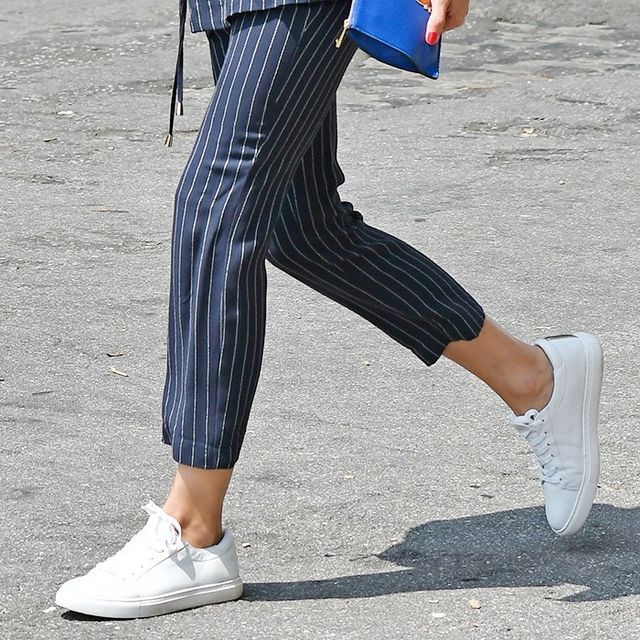 2 Ways to Wear Sneakers to Work, Courtesy of Olivia Palermo