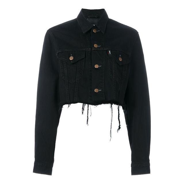 Blackyoto Cropped Denim Jacket