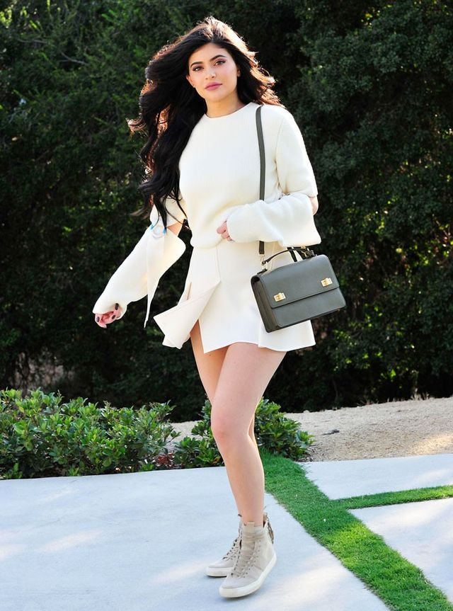 bb3fb10c6b8e The surprising shoes kylie jenner wore with her latest outfit who jpg  640x863 Henri bendel shoes