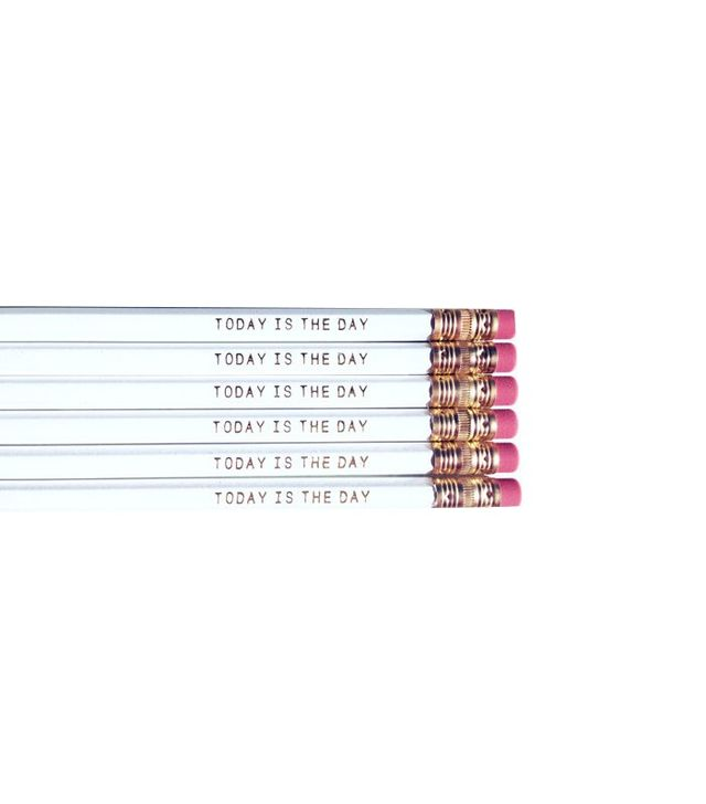 Amber Less Isabella Home Today Is the Day Pencils