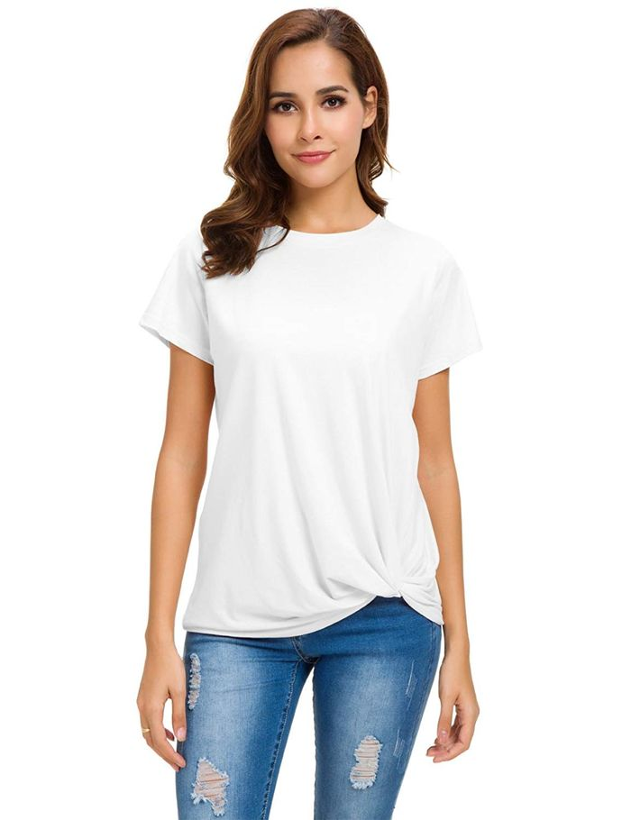 ed8834c0 Rated: The 20 Best White T-Shirts on Amazon | Who What Wear