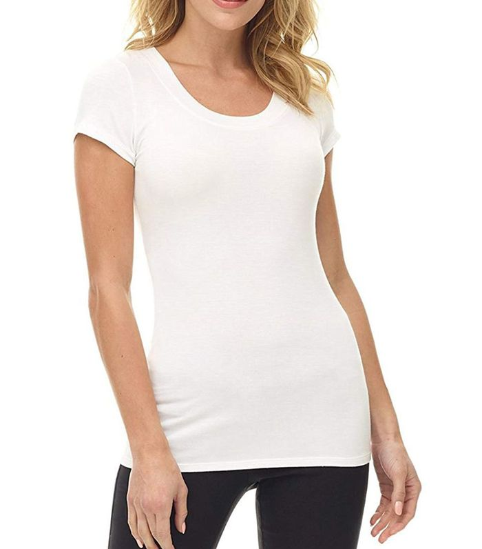 84041a8a54c7ce Rated: The 20 Best White T-Shirts on Amazon | Who What Wear