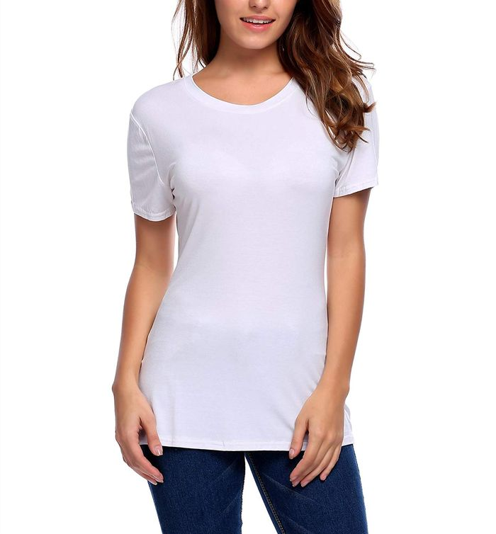 fb8a33282 Rated: The 20 Best White T-Shirts on Amazon | Who What Wear