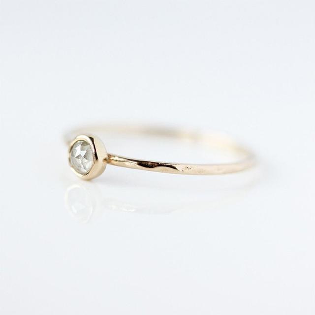 Belinda Saville Rose Cut Diamond Ring